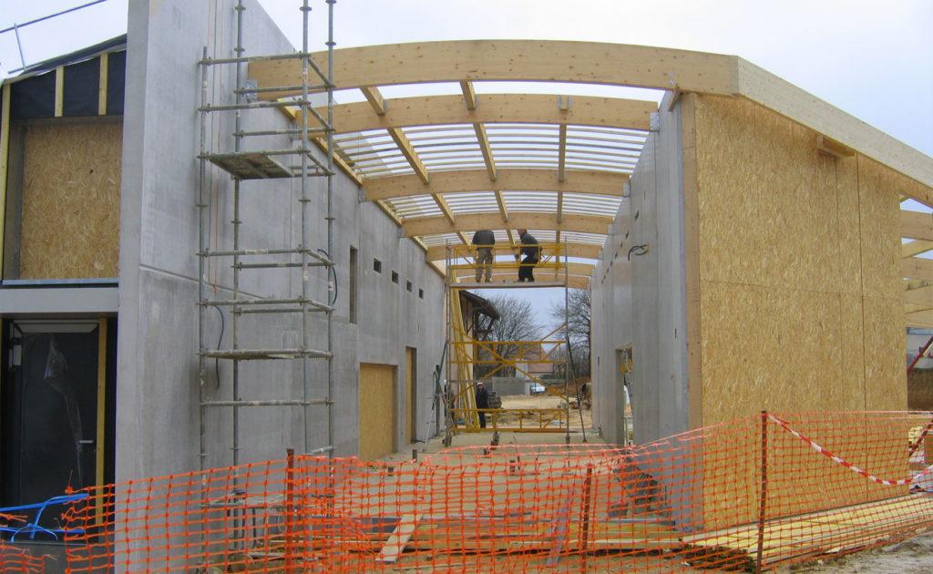Agence AIRE Atelier d'Architecture Le Mans - chantier