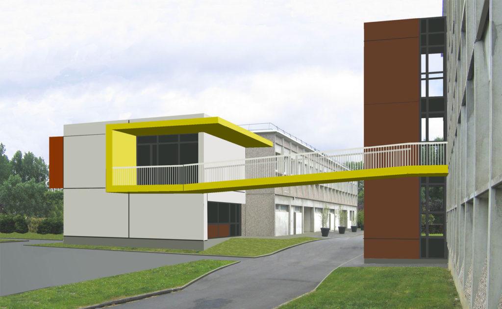 Agence AIRE Atelier d'Architecture Le Mans- projet