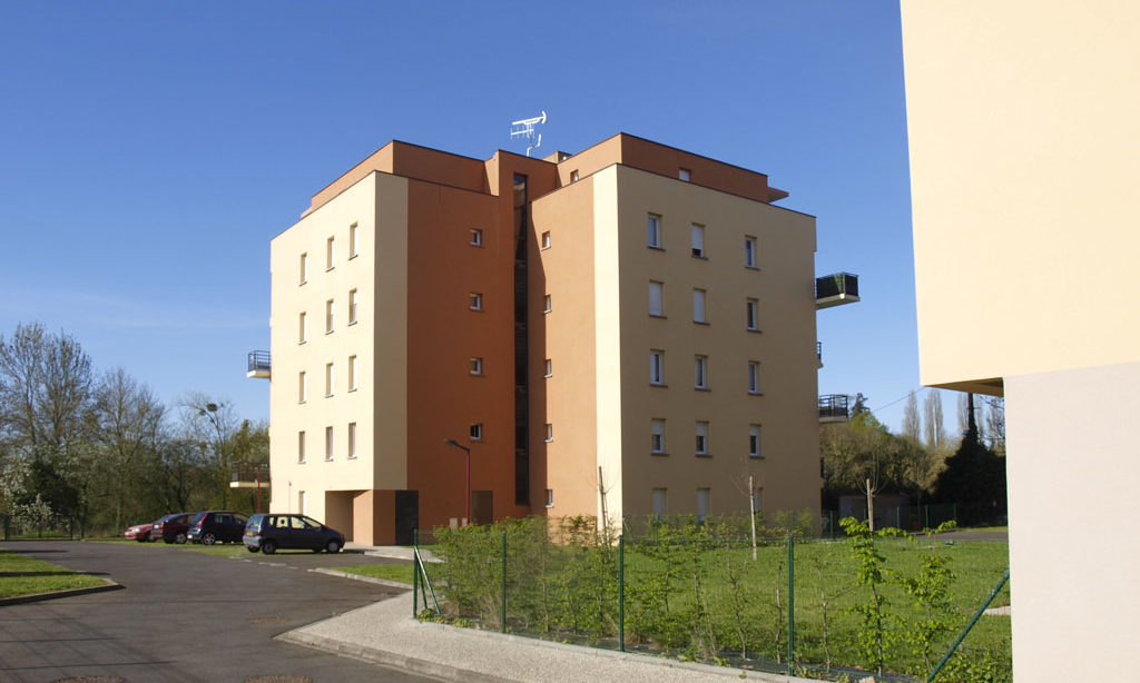 Conception d'immeubles de logements HLM Les Sables d'Or - le Mans