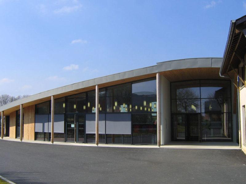 Conception Restaurant Scolaire Moulins le Carbonnel - Sarthe