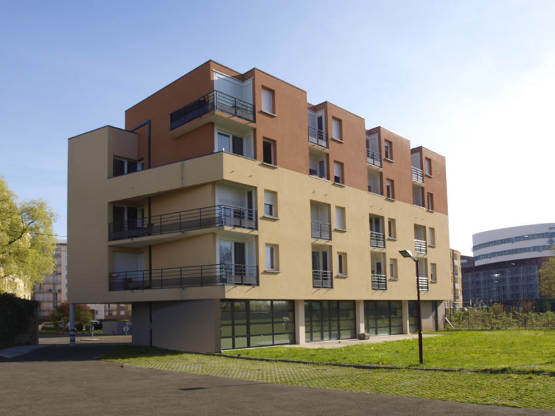 Construction d'immeubles de logements Les Sables d'Or - le Mans