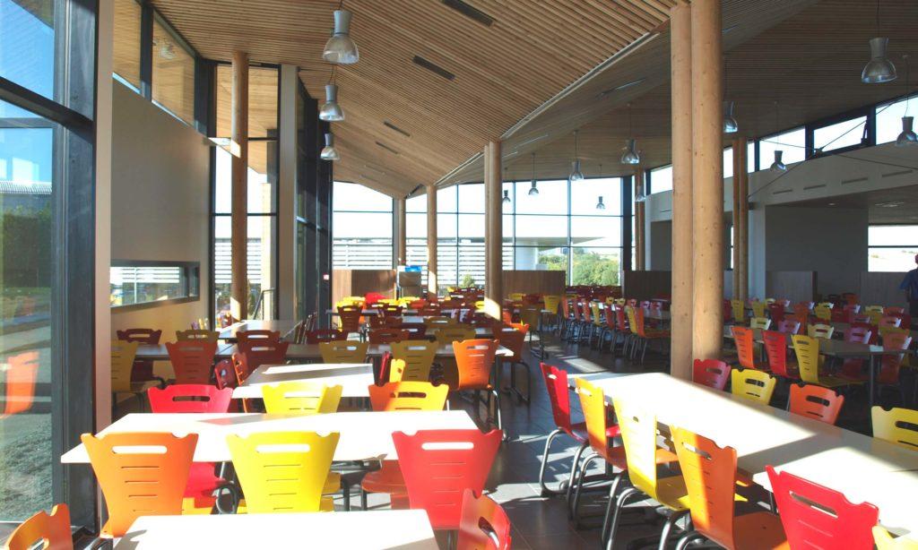 Agence AIRE Atelier d'Architecture - Restaurant Universitaire L'Aubepin