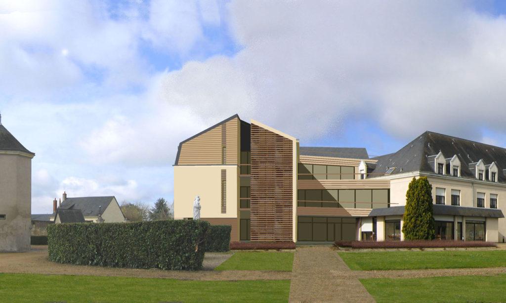 Extension et restructuration Maison de Retraite Dujarie - Sarthe