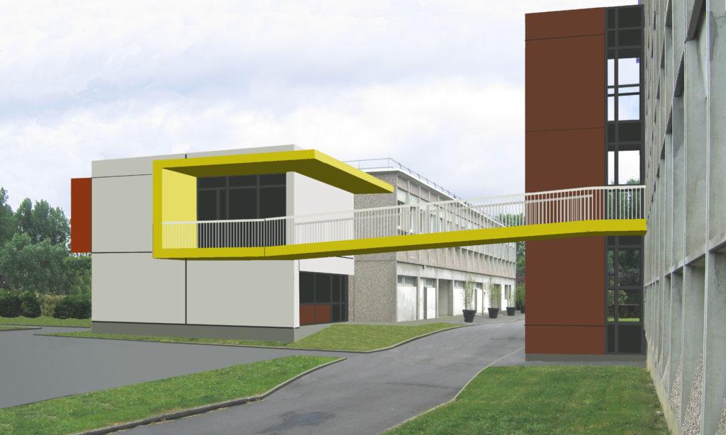 Ascenseurs et accessibilité handicaps Collège Pierre de Ronsard