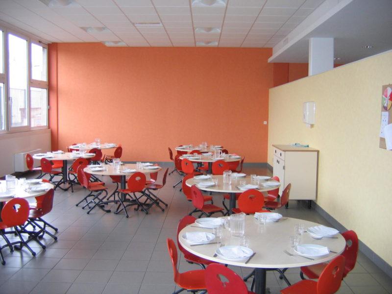 Restructuration Restauration scolaire de l'Ecole Georges Braque - Coulaines