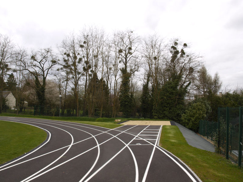 Réfection du plateau sportif Lycée Leclerc de Hauteclocque