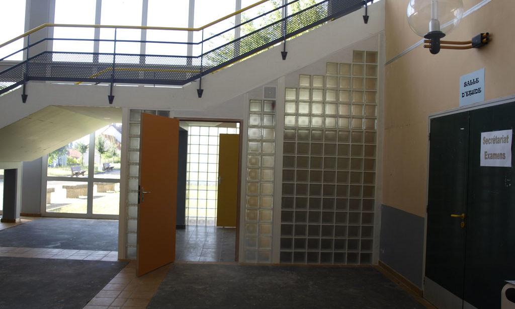 Ascenseurs et accessibilité handicaps Lycée Leclerc de Hauteclocque
