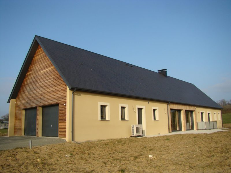 Reconstruction maison longère traditionnelle - Ecommoy