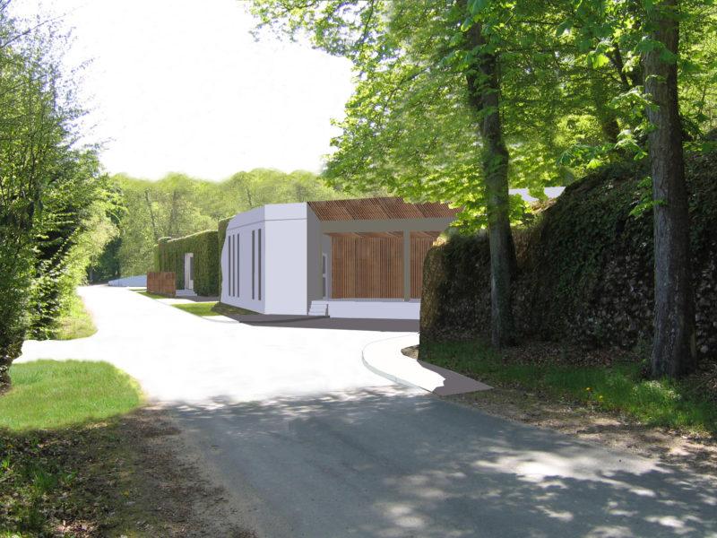 Restructuration et extension cuisine Château des Vaux